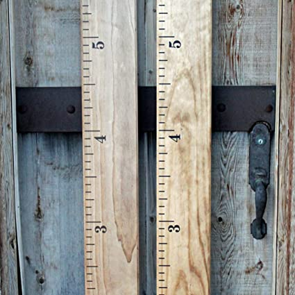 Amazon Diy Vinyl Growth Chart Ruler Decal Kit Small Numbers