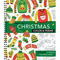 Color & Frame Coloring Book - Christmas