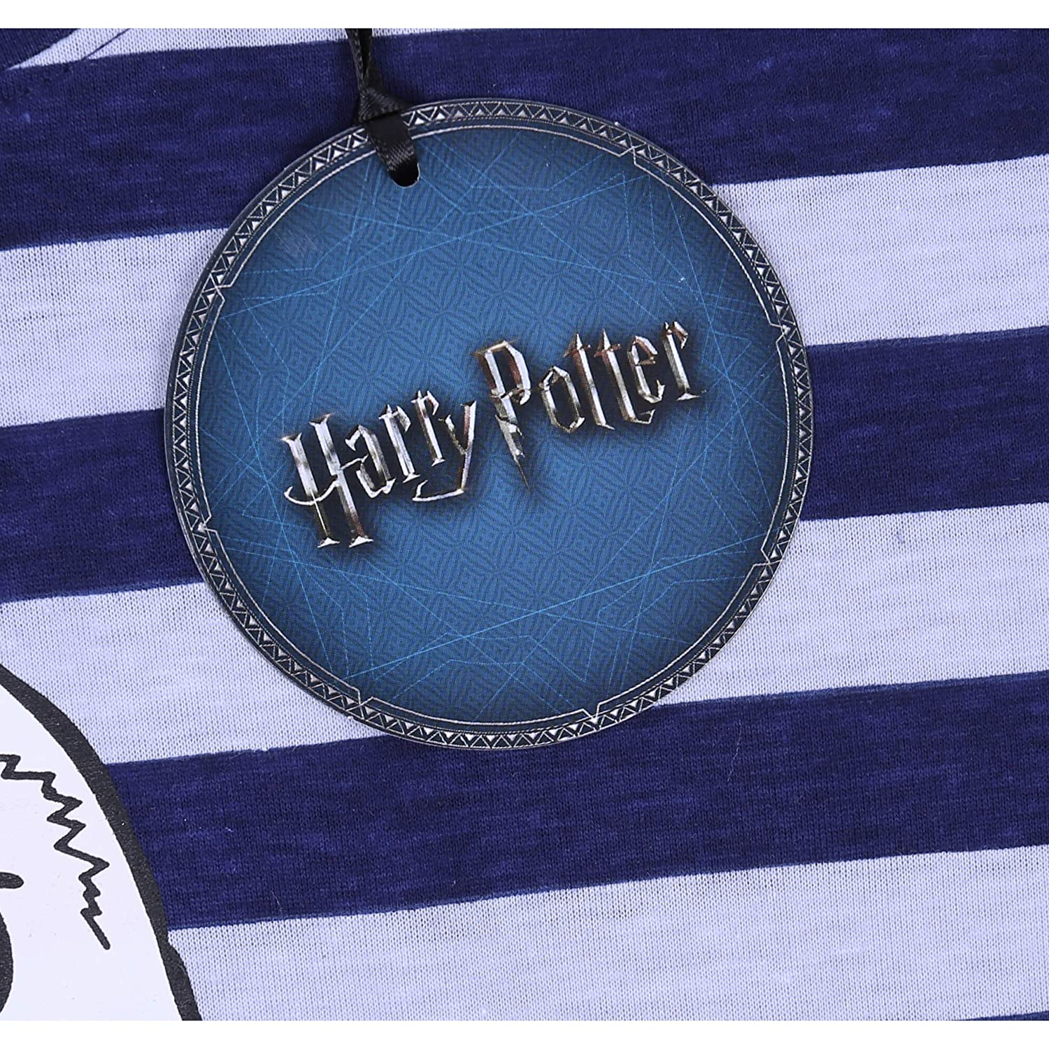 Harry Potter Pigiama Blu Scuro Gufo Large