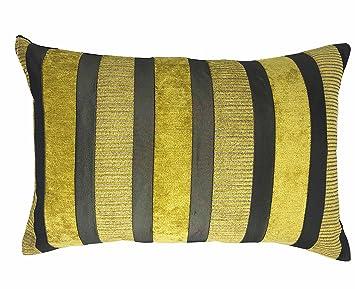 Lancashire Textiles Taipei - Funda de Cojín (60 x 40 cm ...