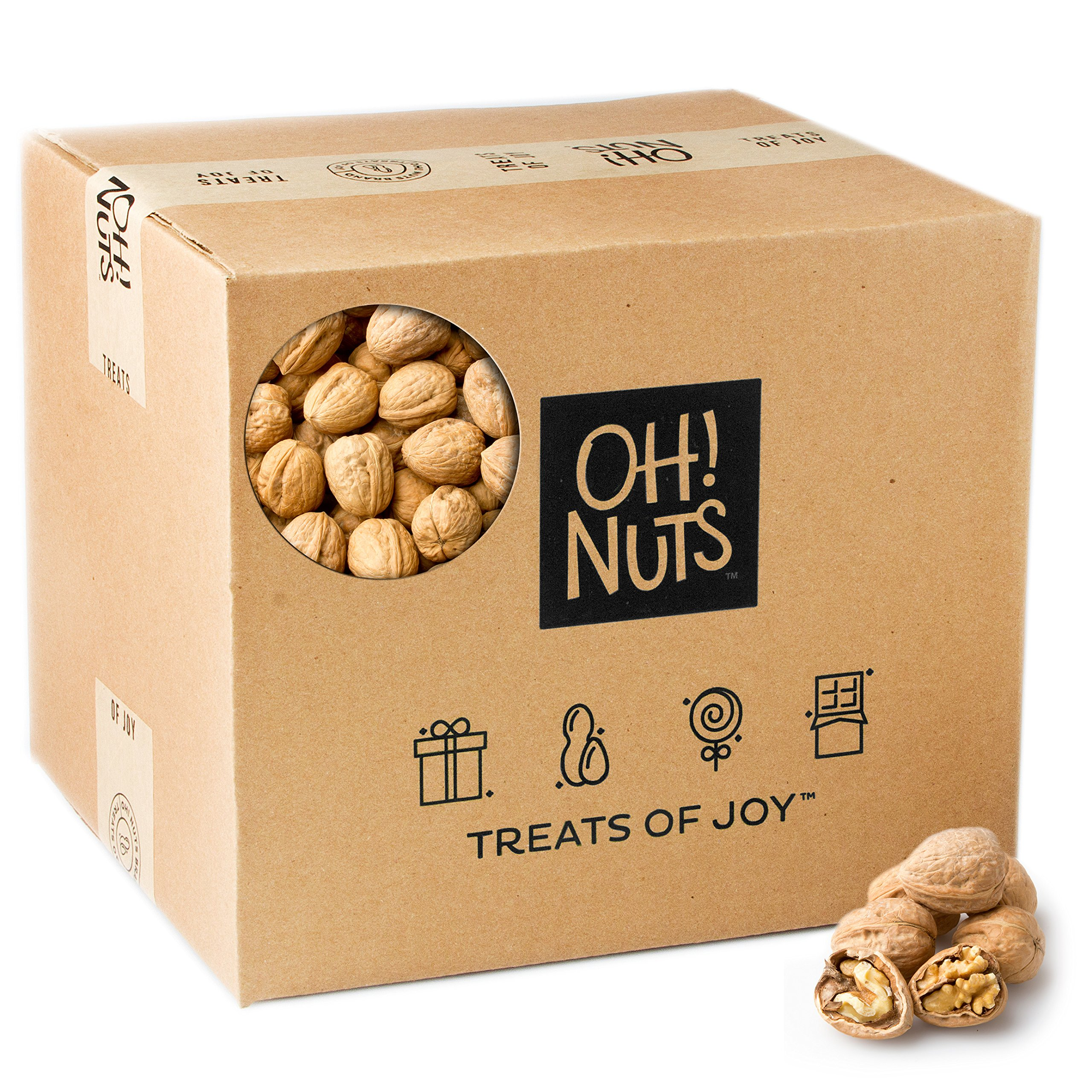 In Shell Walnuts- Oh! Nuts (25 Pound Bag) by Oh! Nuts®