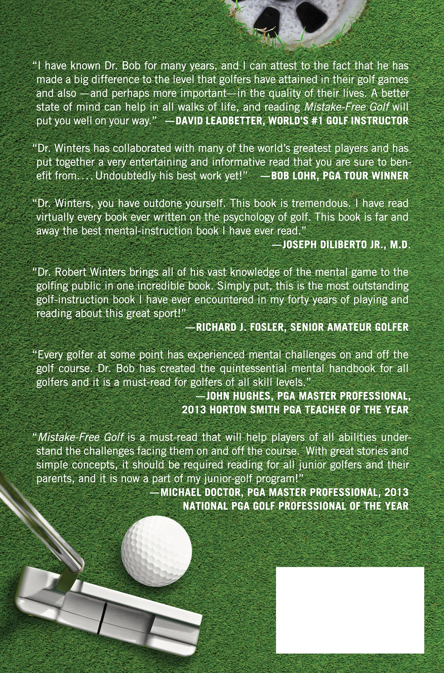 mistake free golf first aid for your golfing brain robert k