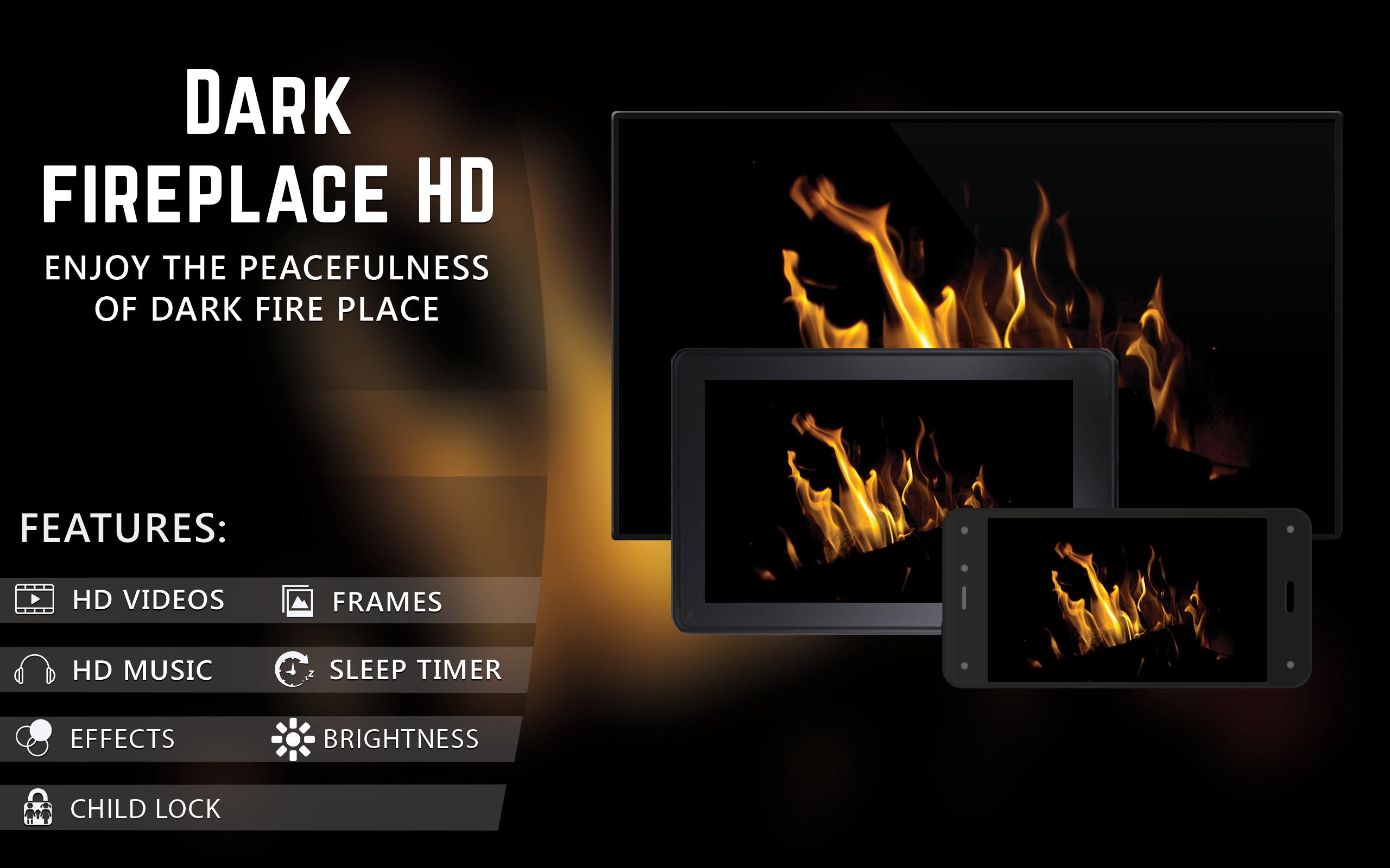 Amazoncom Dark Fireplace HD FREE Enjoy the winter with hot