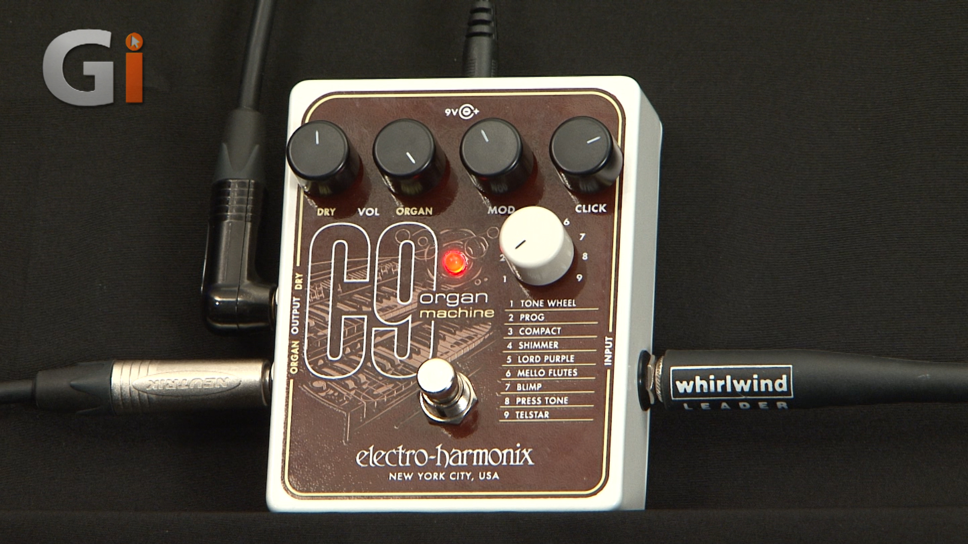 b1ba8b208402f Electro-Harmonix C9 Organ Machine Pedal review