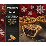 Walkers Shortbread Spiced Orange and Cranberry Tarts (Pack of 3)