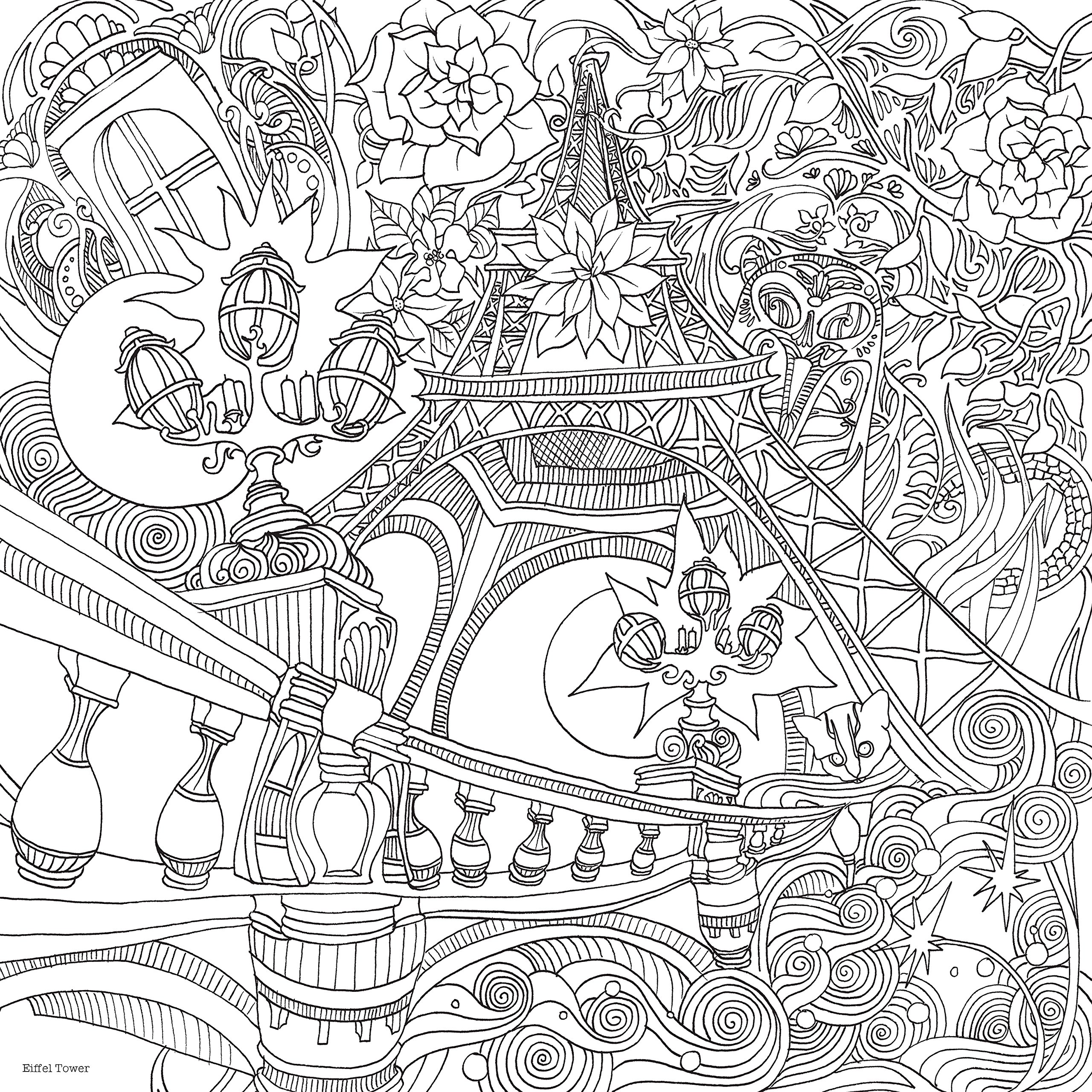 Amazoncom The Magical City A Colouring Book Magical Colouring