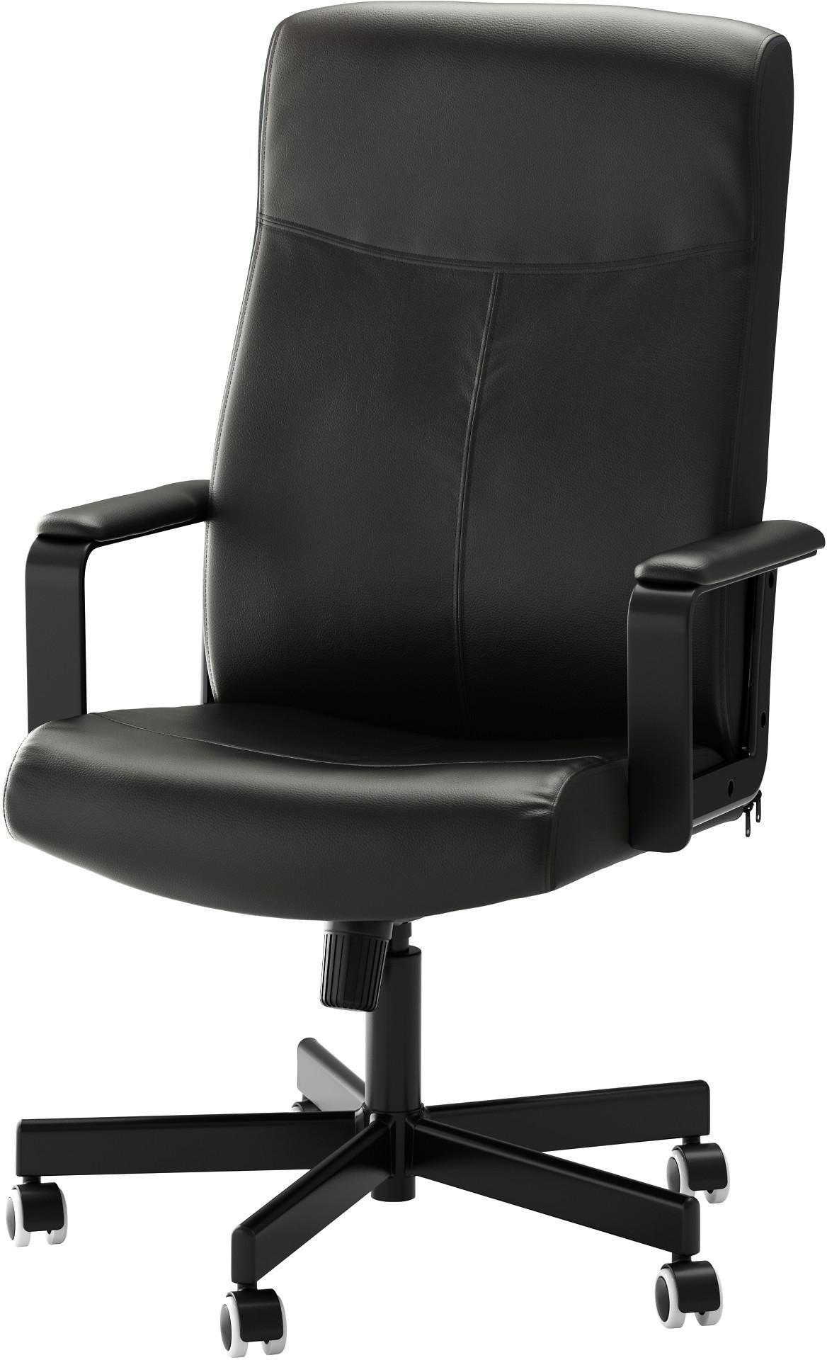 MALKOLM Swivel chair - Bomstad black, - IKEA