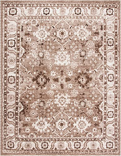 Safavieh Vintage Hamadan Collection VTH214T Oriental Traditional Persian Non-Shedding Stain Resistant Living Room Bedroom Area Rug - a good cheap living room rug