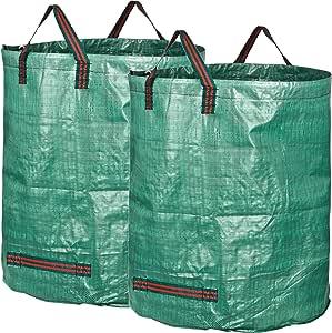 GardenMate 2X Bolsas de Basura de jardín Professional 400L ...