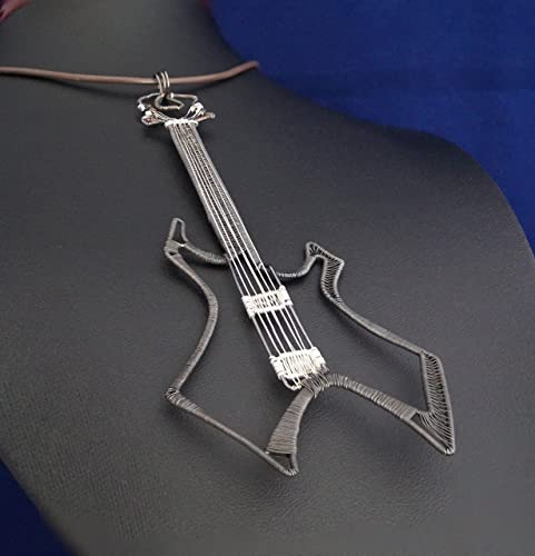 amazon com b c rich warlock guitar pendant copper wire with rh amazon com b.c. rich warlock wiring bc rich warlock nj series wiring
