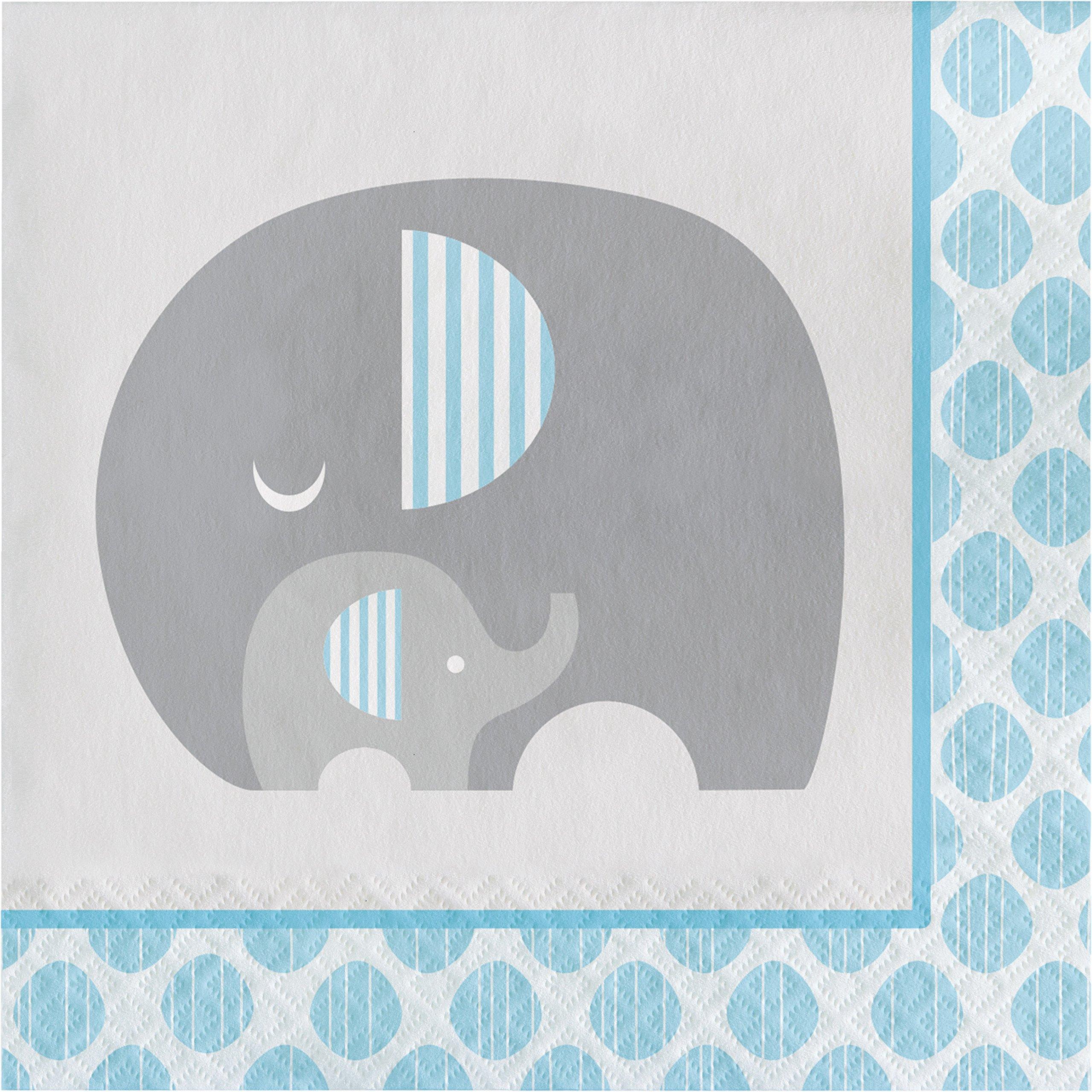 Little Peanut Boy Elephant Napkins, 48 ct