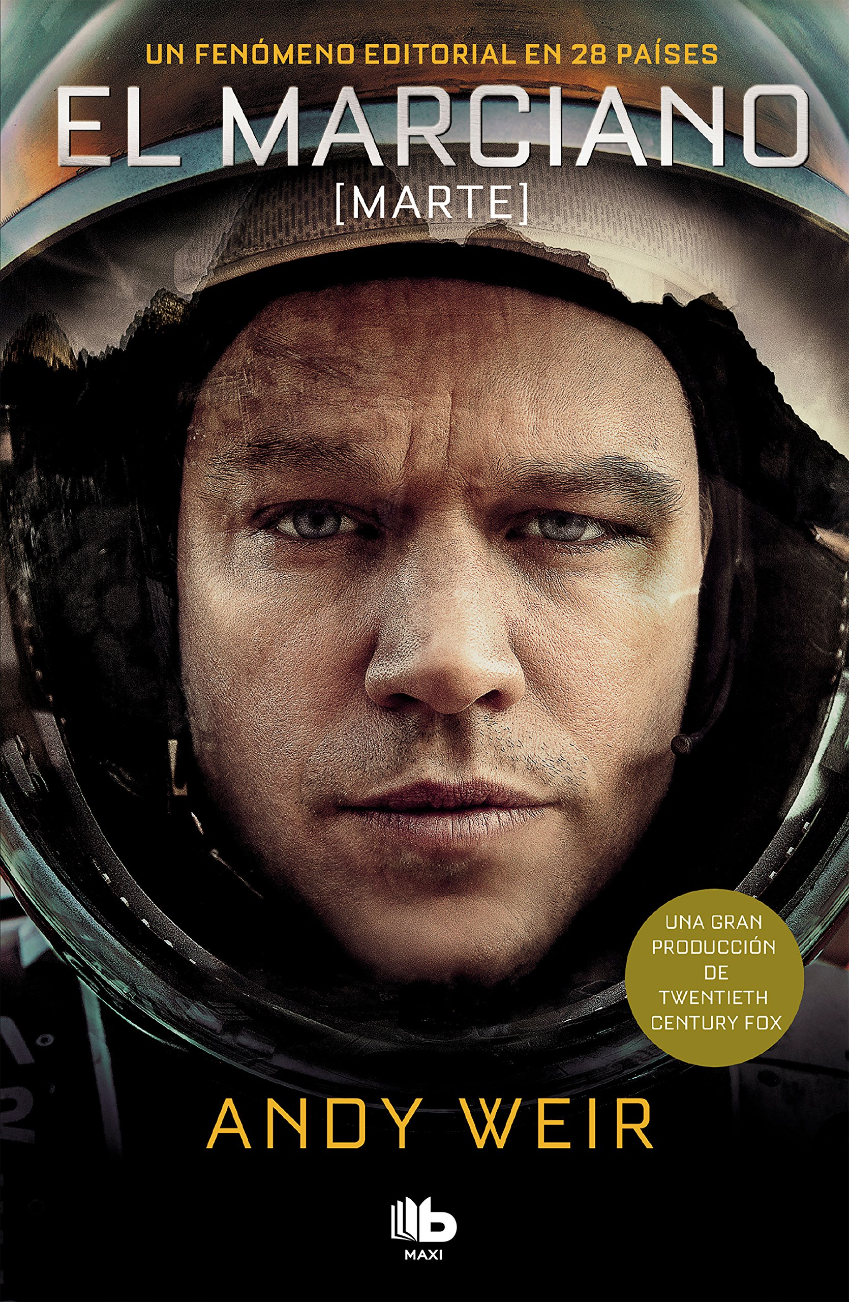Amazon.com: El marciano / The Martian (Spanish Edition) (9788490705780): Andy Weir: Books