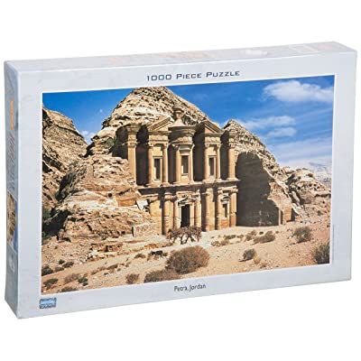 Tomax Petra, Jordan 1000 Piece Jigsaw Puzzle: Varios: Toys & Games