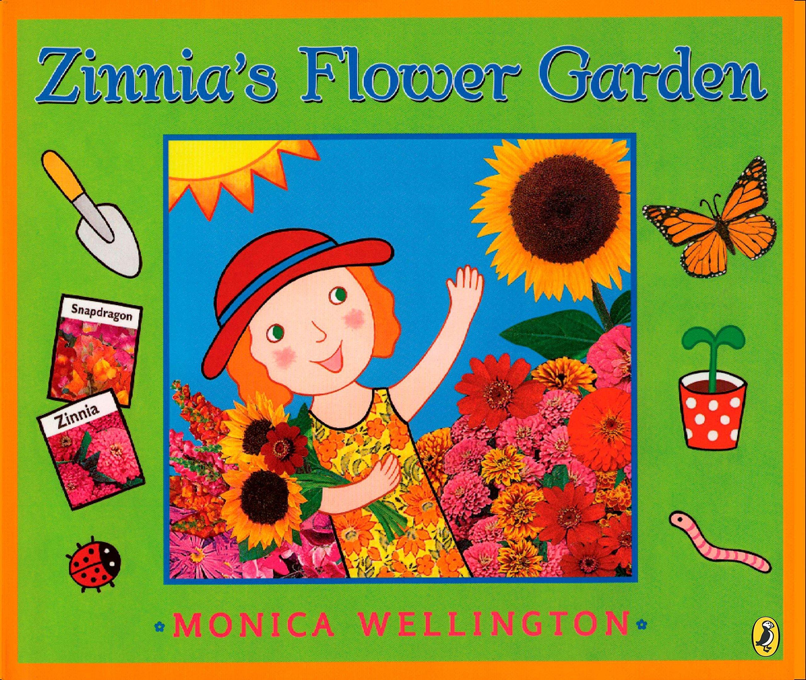 Image result for zinnia's flower garden