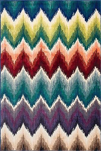 Loloi Rugs, 7 -7 x 10 -5 , Multicolor