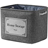 Sacyic Large Storage Baskets for Shelves, Fabric Baskets for Organizing, Collapsible Storage Bins for Closet, Nursery…
