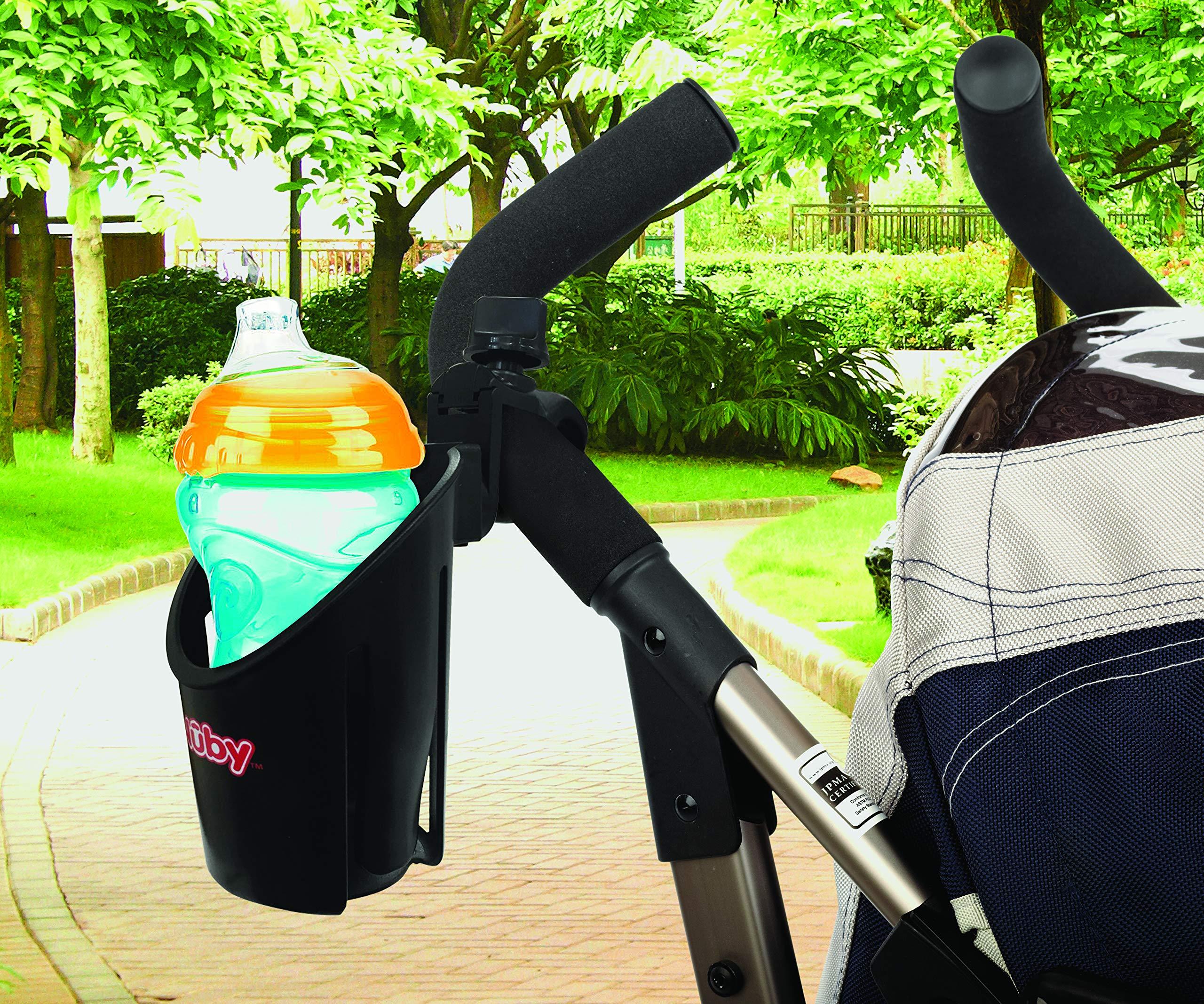 Nuby Trio Stroller Accessory Set: Cup Holder/Phone Holder/Double Hook Set