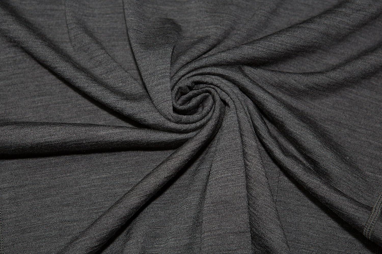 Sheep Run Mens Merino Wool Long Sleeve Henley Shirt