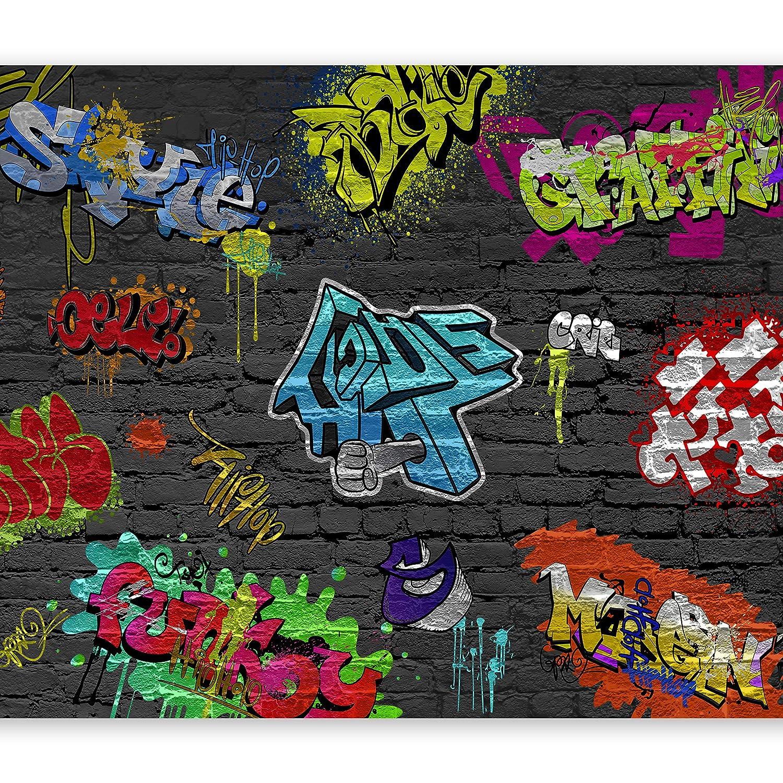 Murando - Fototapete 400x280 cm - Vlies Tapete - Moderne Wanddeko - Design Tapete - Wandtapete - Wand Dekoration - Graffiti 10110902-6