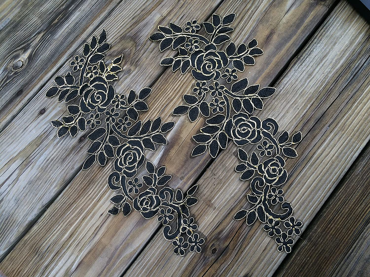 New arrival cheap in stock lace appliques beads fingerless wrist