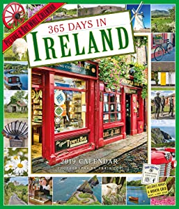 "365 Days in Ireland Picture-A-Day Wall Calendar 2019 [12"" x 14"" Inches]"