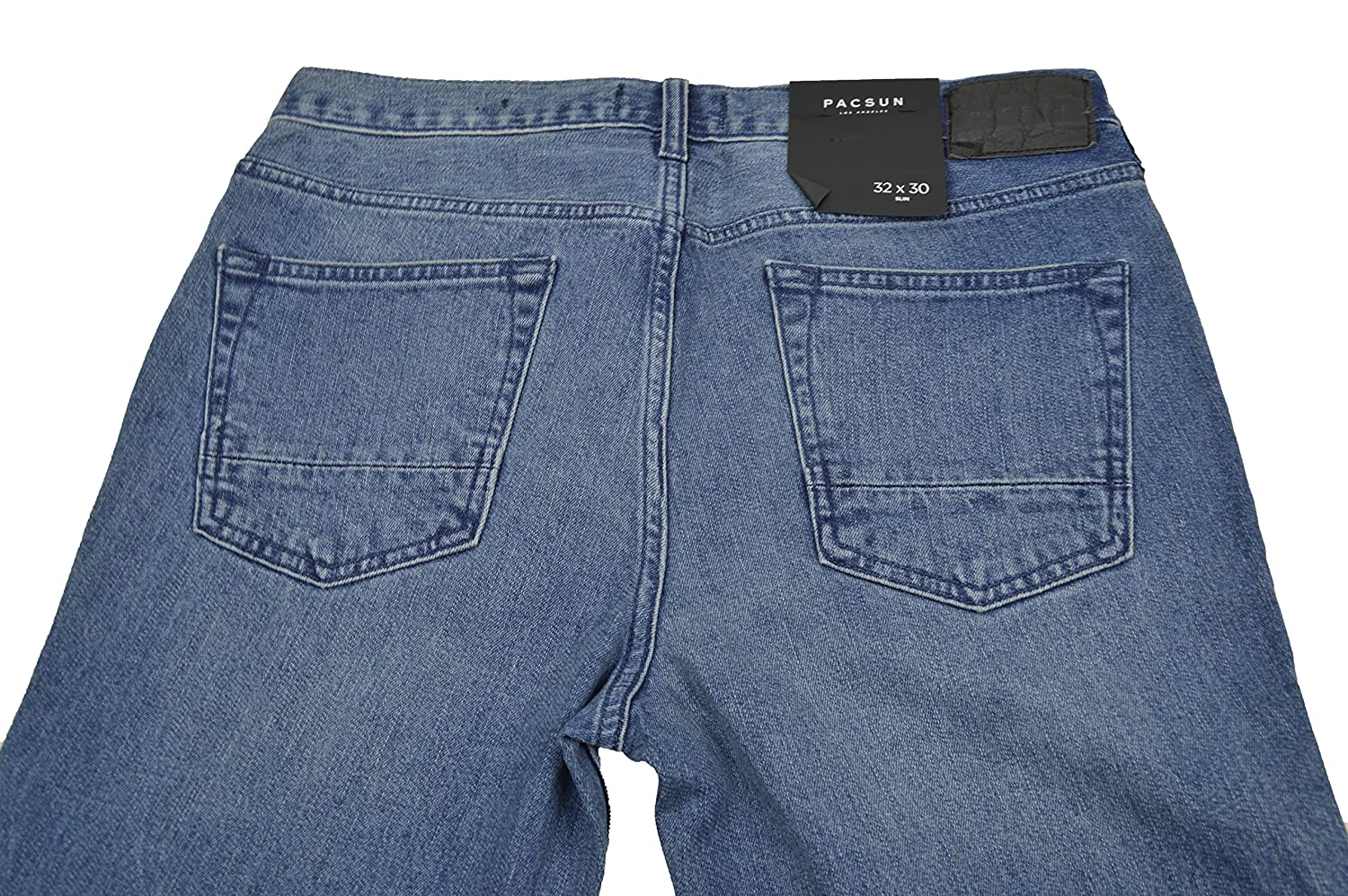 PacSun Slim Active Stretch Medium Denim Jeans at Amazon Men s Clothing  store  62d77a2eea