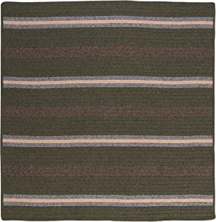 product image for Colonial Mills Salisbury Square Rug, 8-Feet, Olive