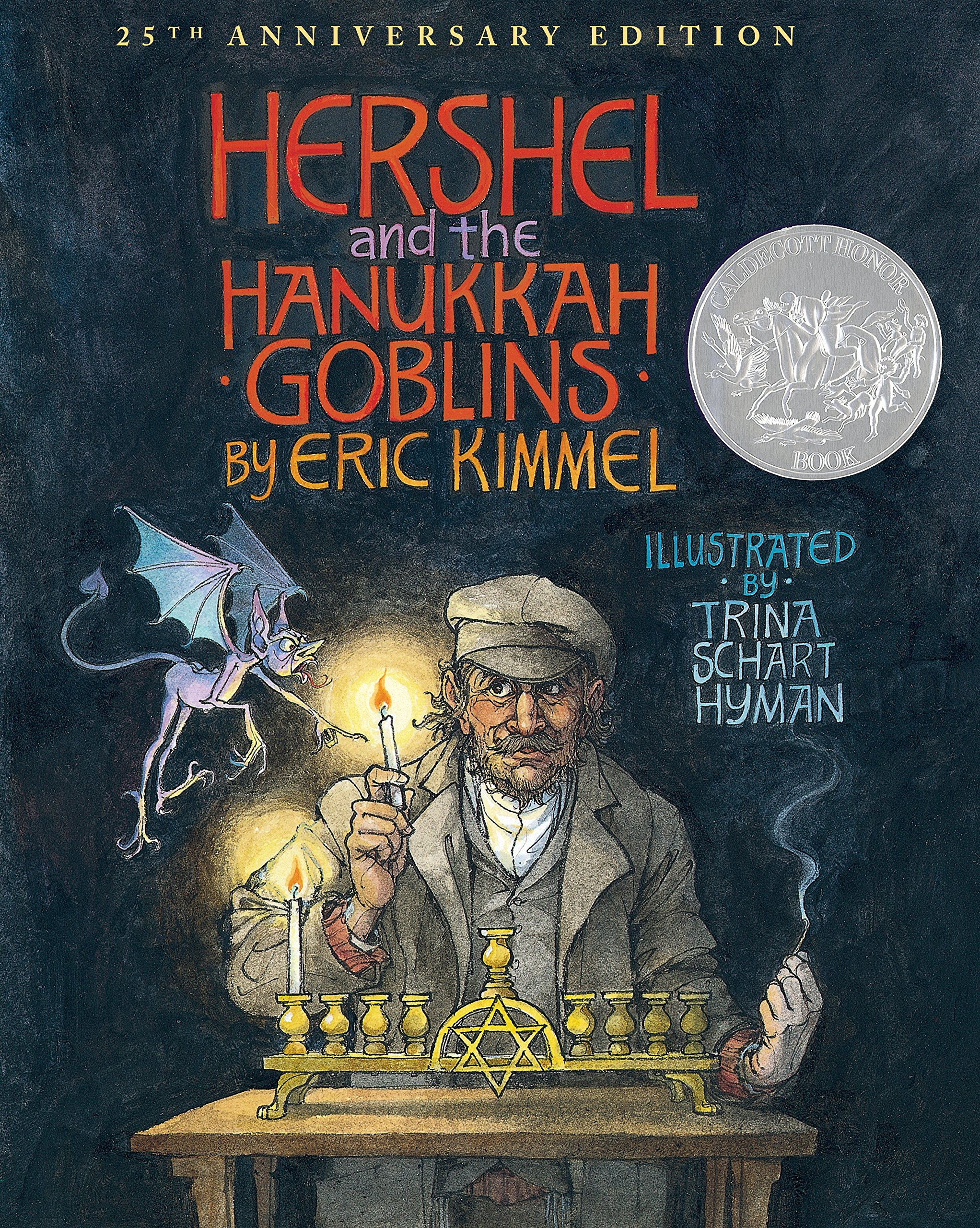 Hershel and the Hanukkah Goblins: 25th Anniversary Edition by Holiday House (Image #1)
