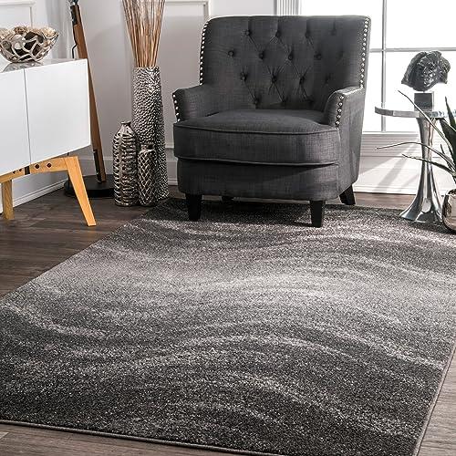 nuLOOM Julene Contemporary Area Rug, 3 x 5 , Grey