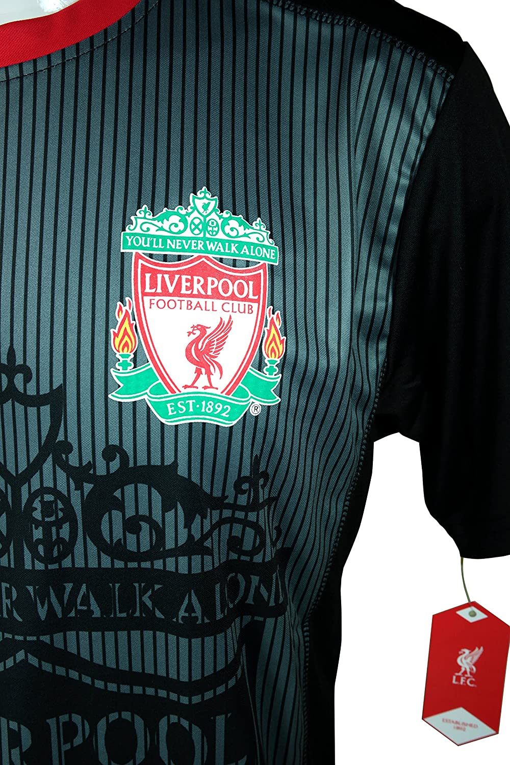 Official Adult Soccer Poly Jersey P002 Icon Sport Group Liverpool F.C