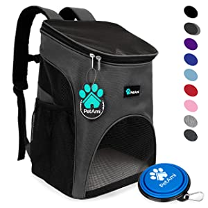 New Puppy Checklist: Pet Carrier Backpack for Travel, Hiking and Outdoor Use
