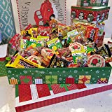 Glam Lux Mexican Posada Christmas Candy Assortment Gift Tin/Basket,Gifts under 30,
