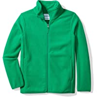 Amazon Essentials Boy's Full-Zip Polar Fleece Jacket