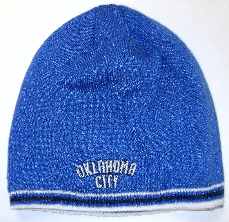 0315635cea96d Amazon.com   NBA Oklahoma City Thunder Adidas Knit Hat - Youth - KF12B    Sports   Outdoors