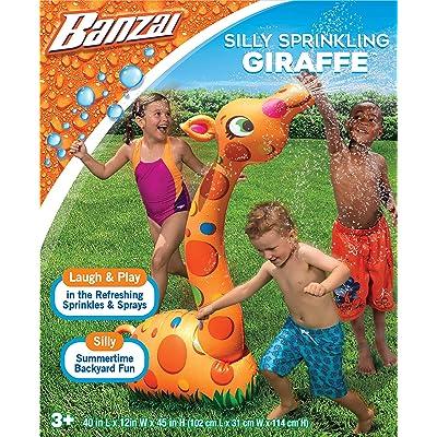 BANZAI Silly Sprinkling Giraffe: Toys & Games