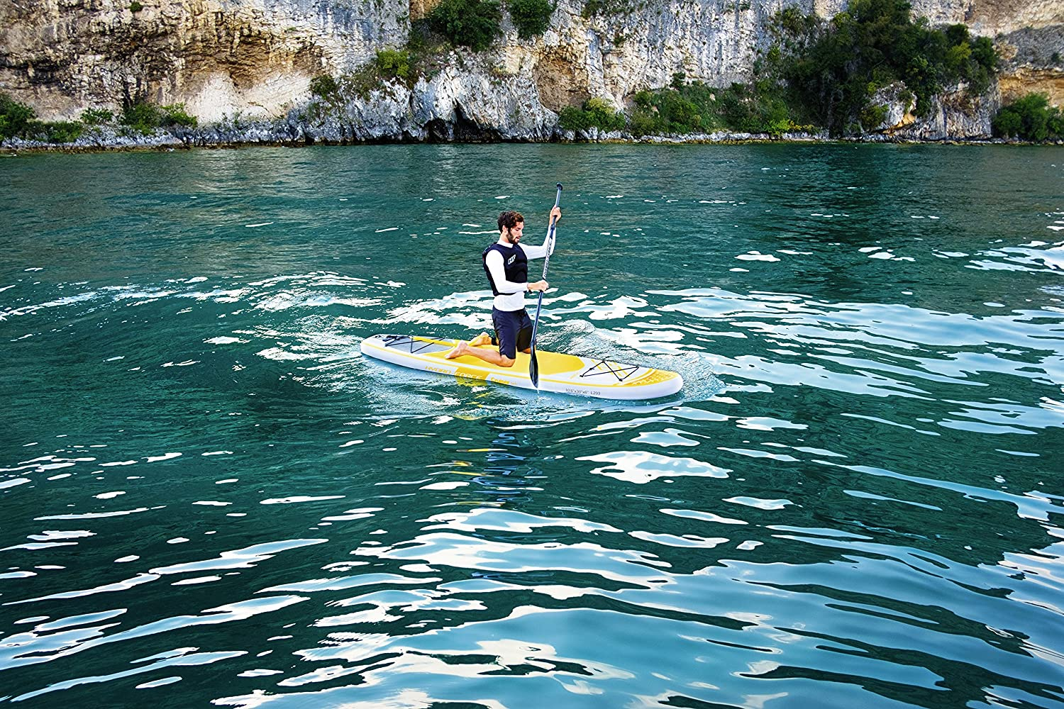 Amazon.com : Bestway Hydro-Force Cruiser Tech Inflatable Stand Up Paddle Board, 106