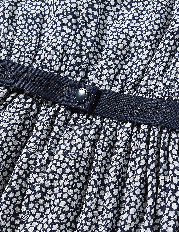 Tommy Hilfiger Ditsy Flower Print Dress S//S Vestito Bambina