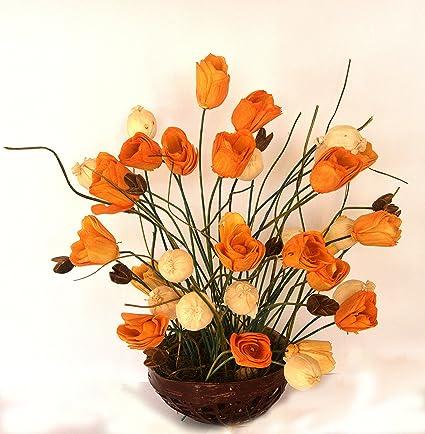 Showpiece Centrepiece Flower Bouquet Decoration For Centre Table