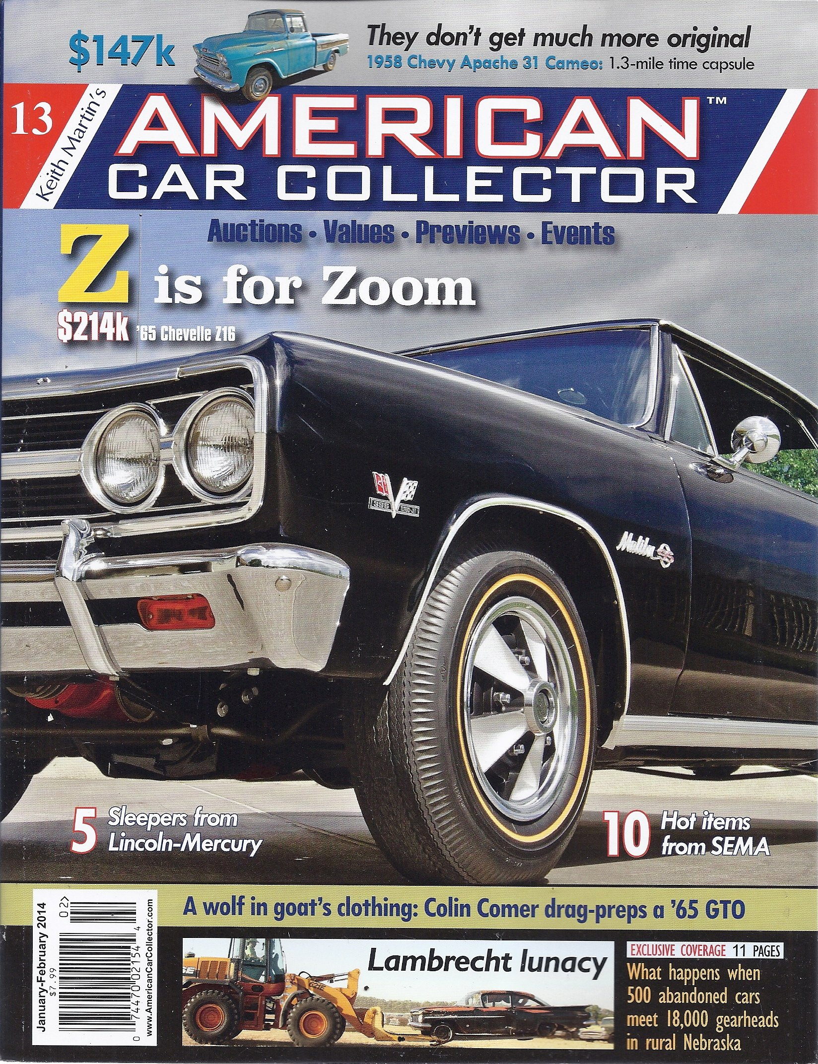 Read Online Keith Martin's American Car Collector (January/February 2014 - Issue 13) ebook