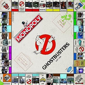 Monopoly cazafantasmas (versión en alemán): Amazon.es: Juguetes y juegos
