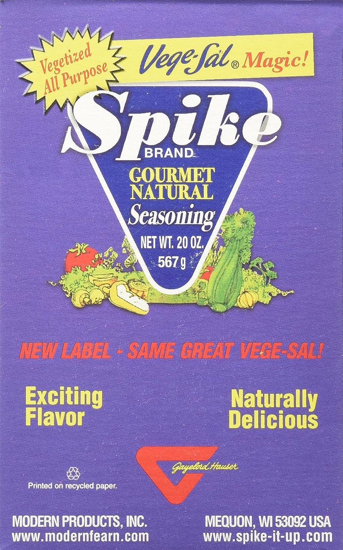 Modern Products Spike Gourmet Natural Seasoning - Vege Sal - Box - 20 Oz