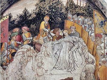 amazon com loggia the founding of rome by gentile da fabriano