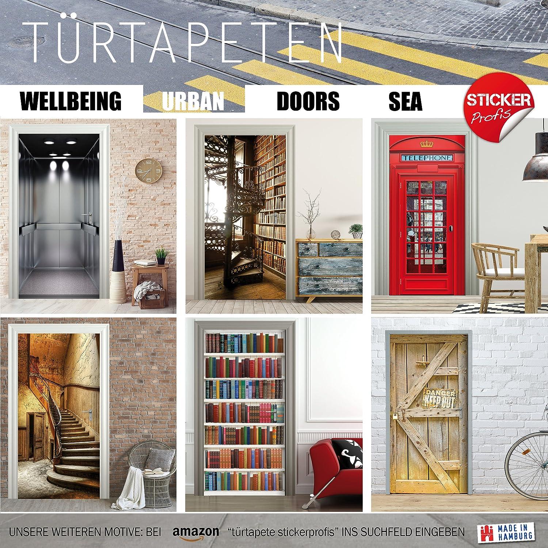 Fototapete T/ürfolie Poster Tapete ANTIK T/ÜR StickerProfis T/ürtapete selbstklebend T/ürPoster