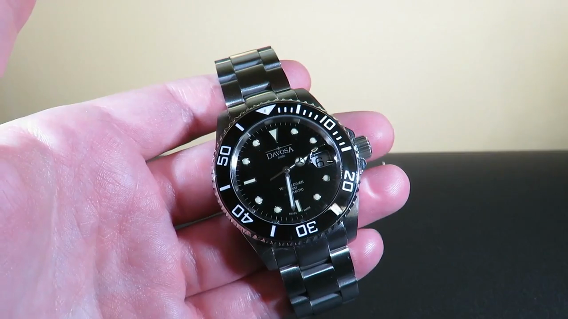a89080441 Davosa Ternos Ceramic Automatic Mens Diving Watch Review