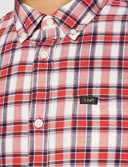 Lee Button Down Camisa para Hombre