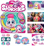 NEW! ZURU - Shnooks Bubble to Best Friend Plush Toys (Styles May Vary) - Cuddly and Cute Plush with Luscious Hair you can Style. Magically Grow 8x in Size from Their Unique Shnubble-Bubble Pack!