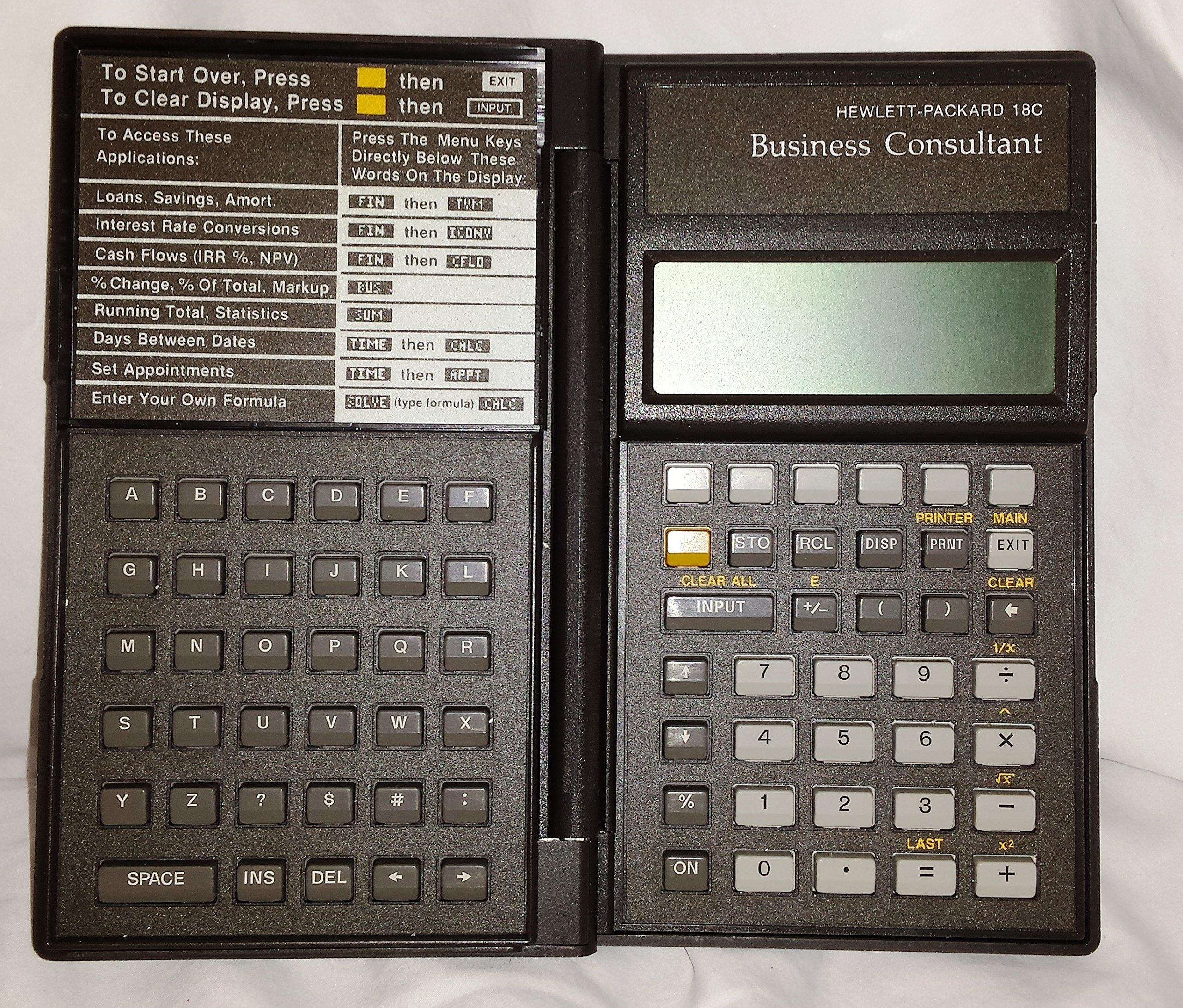 hp 18c manual daily instruction manual guides u2022 rh testingwordpress co HP-16C Calculator USA HP-16C Clone