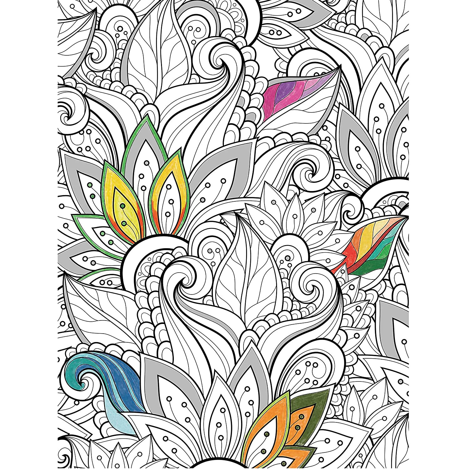 Amazon Cardinal Adult Coloring Puzzle Styles May Vary Toys Games