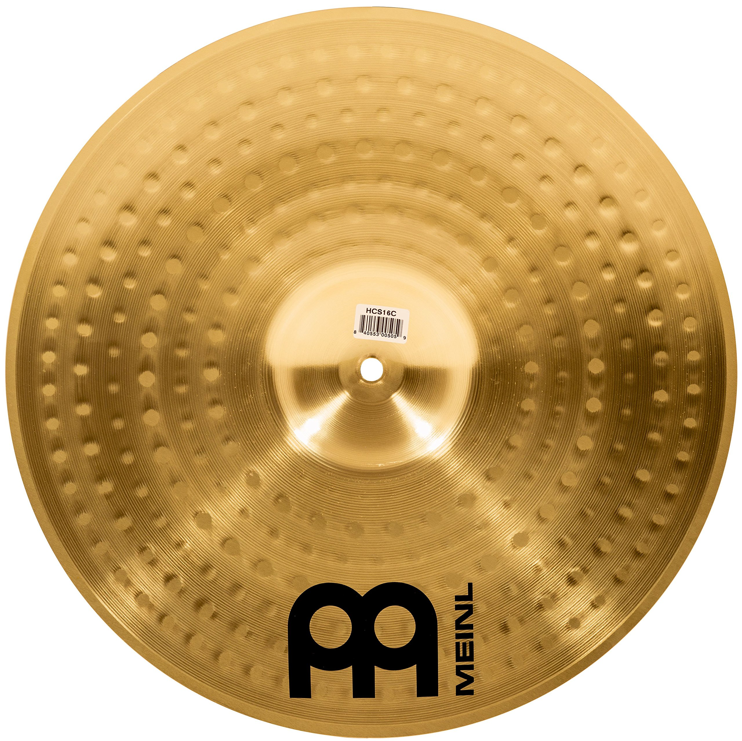 Meinl Cymbals HCS16C 16'' HCS Brass Crash Cymbal for Drum Set (VIDEO) by Meinl Cymbals (Image #2)
