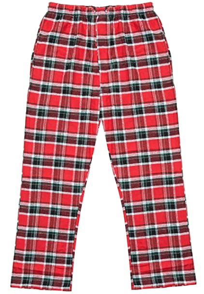 Made to Order Red Flames Fire Unisex Adult Flannel Pajama Pants p1G2Ixmadl